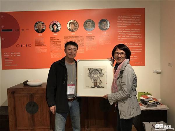 台湾展览~作品被台北收藏家收藏